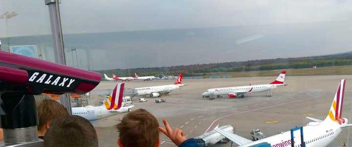 Ausflug zum Flughafen Köln-Bonn